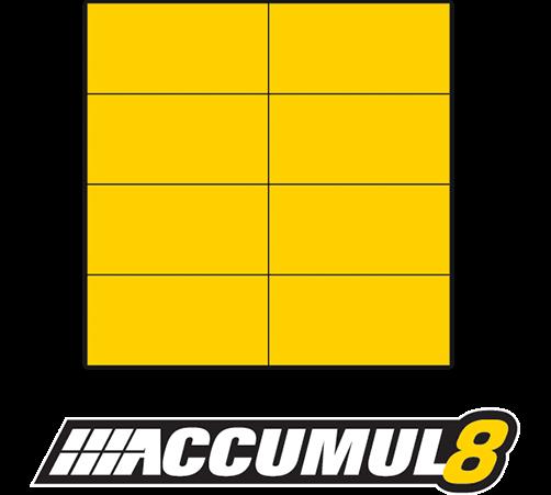 Accumul8 8 Bale Configuration